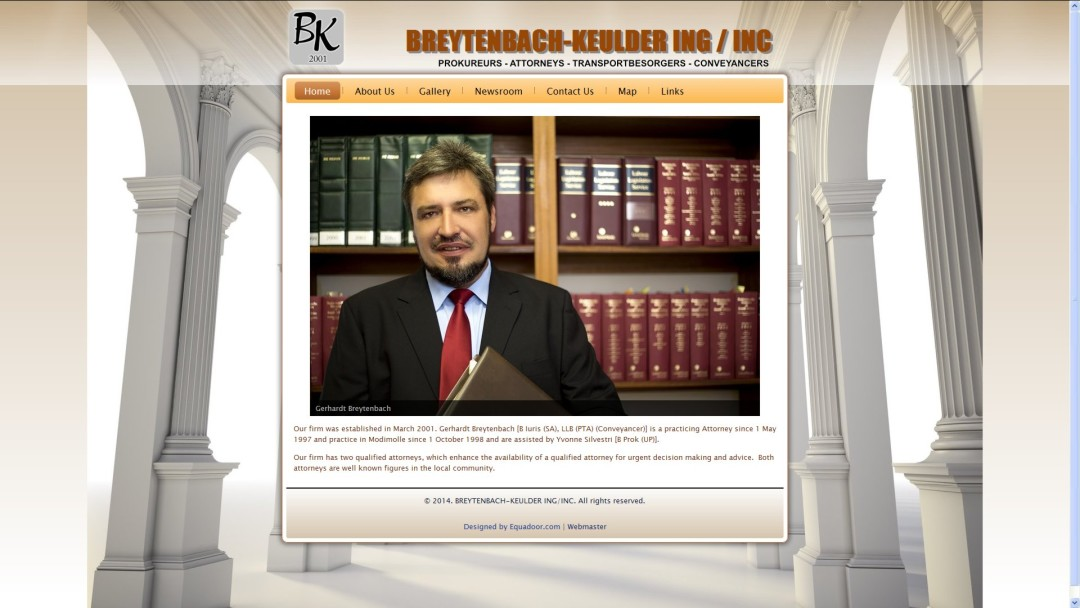 BREYTENBACH-KEULDER PROKUREURS / ATTORNEYS in Modimolle / Nylstroom