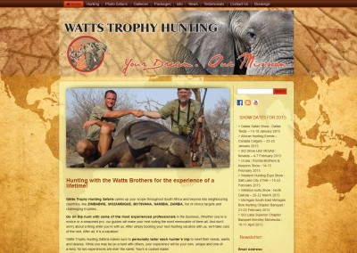 Watts Trophy Hunting Safaris