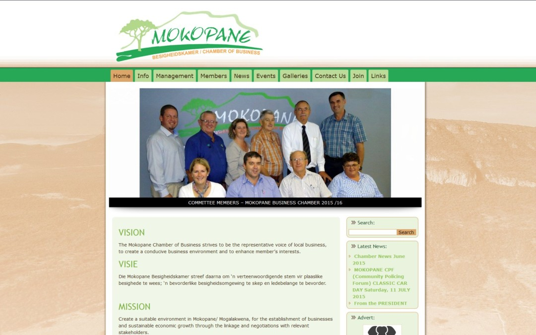 New Mokopane Chamber of Business website launched