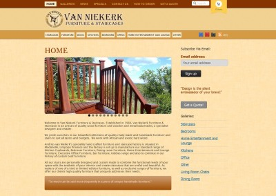 Van Niekerk Furniture & Staircases