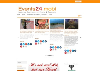 Events24.mobi our Events & Festival Marketing Portal