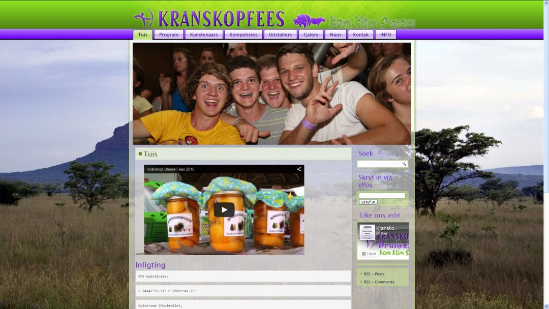 Kranskopfees in Modimolle | Nylstroom