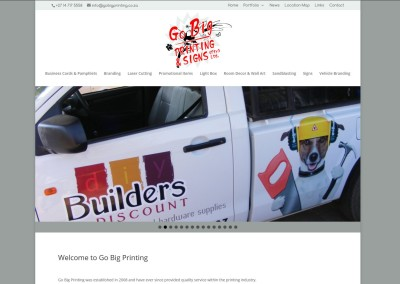 Go Big Printing in Modimolle