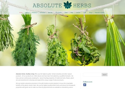 Absolute Herbs – A Healthy Body, Mind & Spirit