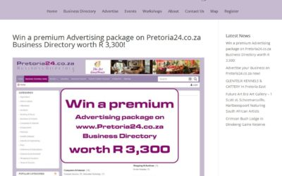 Win a premium Advertising package on Pretoria24.co.za Business Directory worth R 3,300!