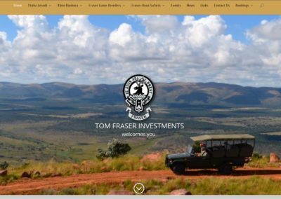 Tom Fraser Investments – THABA LESODI Game Ranch – Klein Kunkura Game Farm – Fraser Game Breeders – Fraser-Roux Safaris